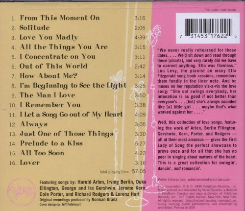 Love Songs: Best of the Verve Songbooks