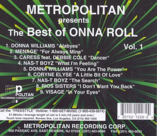 The Best of Onna Roll Records, Pt. 1