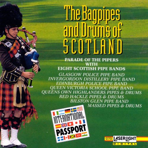 The Bagpipes & Drums of Scotland [Delta]