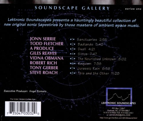 Soundscape Gallery Series, Vol. 1