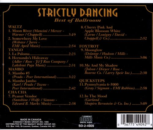 Strictly Dancing: Best of Ballroom