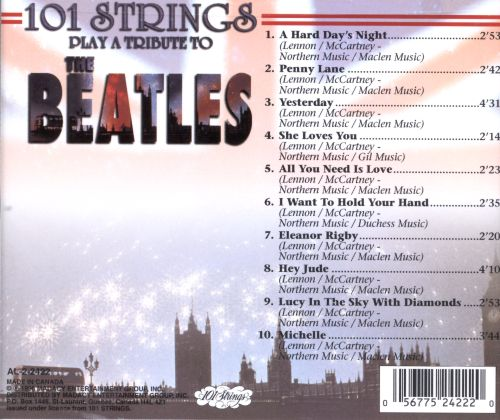 101 Strings Play a Tribute to the Beatles