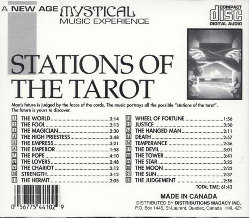 Mystical Music Experience Collection: Stations of the Tarot