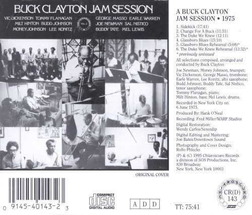 A Buck Clayton Jam Session 1975