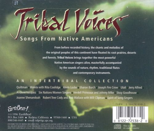 Tribal Voices: Music from Native Americans