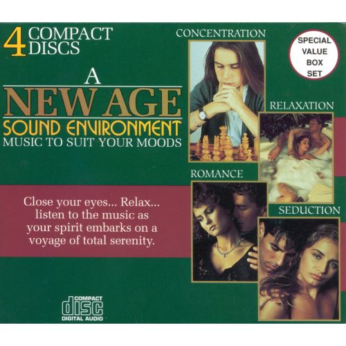 New Age Sound Environment: Music to Suite Your Moods