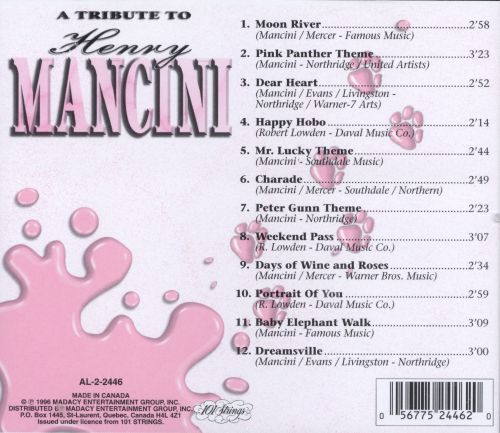 Tribute to Henry Mancini