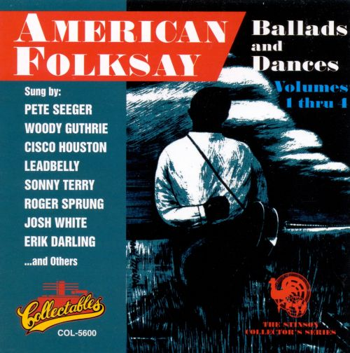 American Folksay: Ballads and Dances, Vols. 1-4