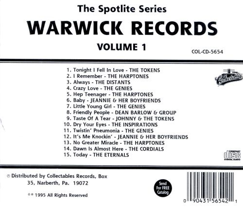 Spotlite on Warwick Records, Vol. 1