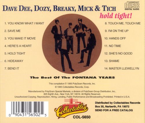 Hold Tight!: The Best of the Fontana Years