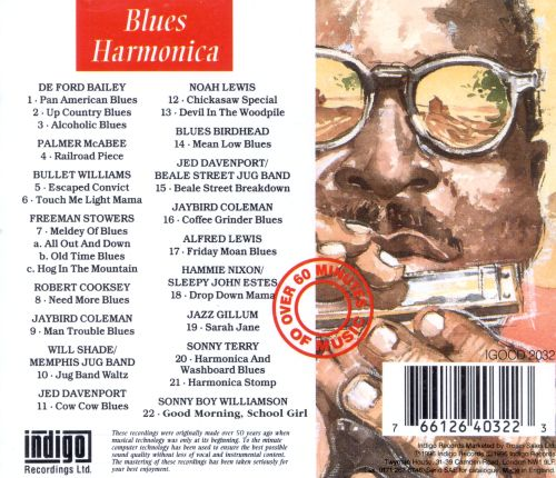 The Essential Recordings of Blues Harmonica