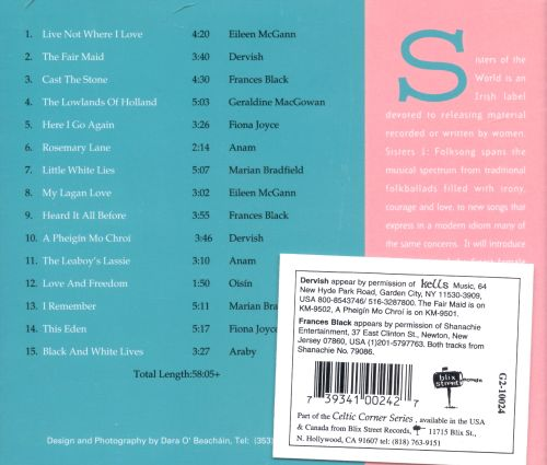 Sisters, Vol. 1: Folksongs