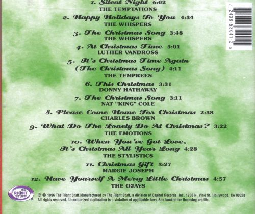 Slow Jams Christmas, Vol. 1 - Various Artists | Songs, Reviews ...