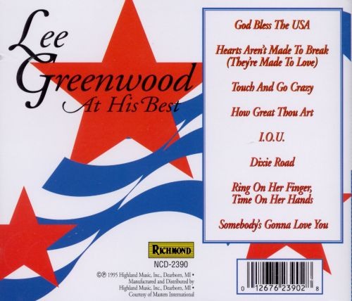 Lee Greenwood at His Best