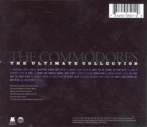 Commodores Ultimate Collection: The Ultimate Collection - Commodores