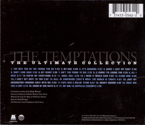 Temptations Ultimate Collection: The Ultimate Collection - The Temptations