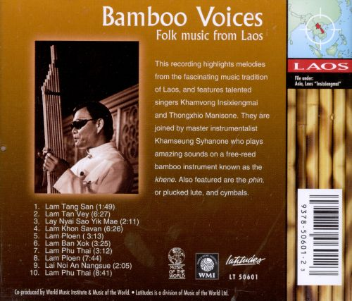 Bamboo Voices: Folk Music from Laos