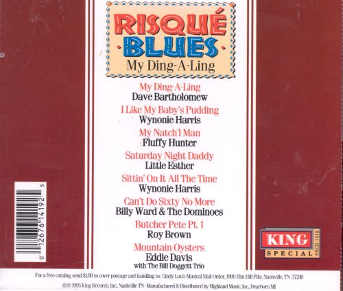 Risque Blues: My Ding-A-Ling