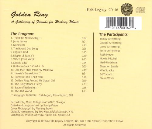 Golden Ring: A Gathering of Friends For Making Music