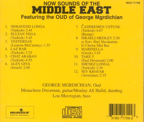 New Sounds of the Middle East
