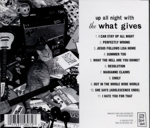 Up All Night with the What Gives
