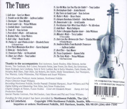 Washington Traditional Fiddlers Project, Vol. 2: Generations