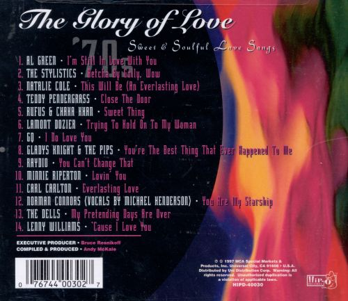 Glory Of Love Sweet Soulful Songs 70s