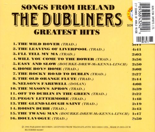 Songs from Ireland: Greatest Hits