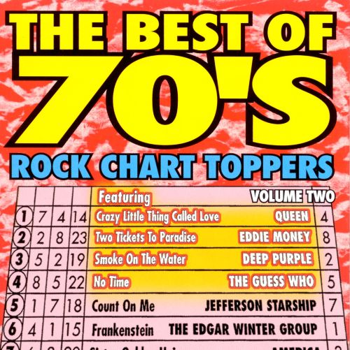 The Best of 70's Rock Chart Toppers, Vol. 2