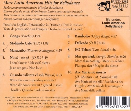 More Latin American Hits for Bellydance