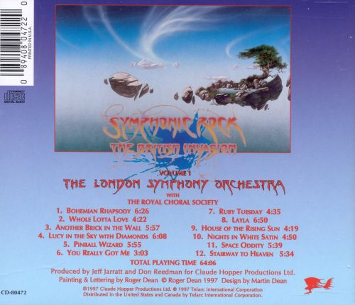 Symphonic Rock: British Invasion, Vol. 1