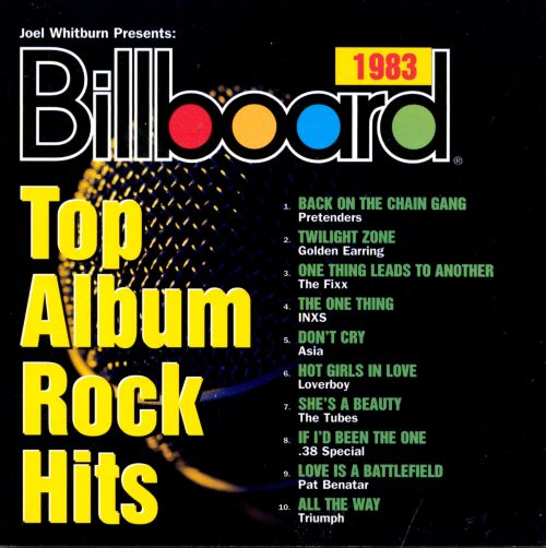 Billboard Top Album Rock Hits 1983