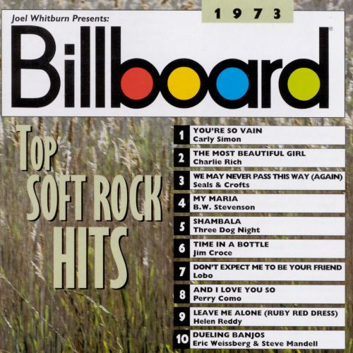 Billboard Top Soft Rock Hits: 1973