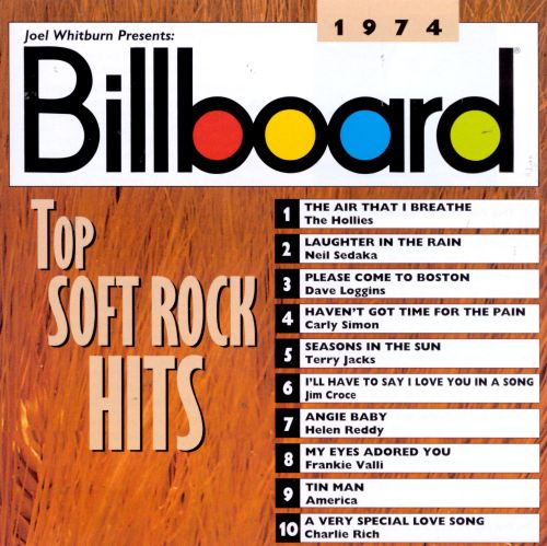 billboard top soft rock hits 1974 various artists songs reviews credits allmusic. Black Bedroom Furniture Sets. Home Design Ideas