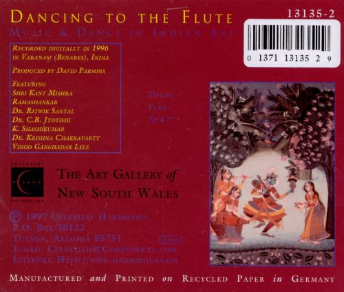 Dancing to the Flute: Music & Dance in Indian Art