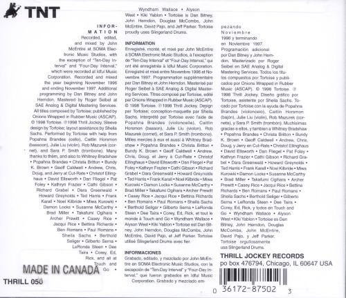 Tnt Tortoise Songs Reviews Credits Allmusic