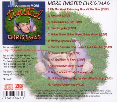 More Twisted Christmas - Bob Rivers | Songs, Reviews, Credits ...