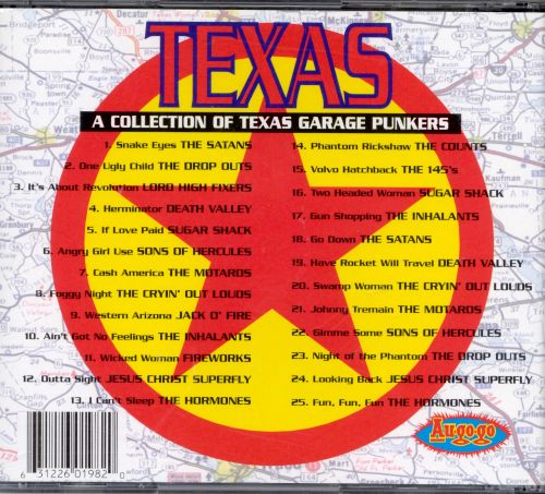 Texas: Collection of Texas Garage Punkers