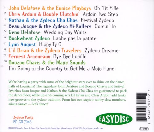 Zydeco Party [Easydisc]
