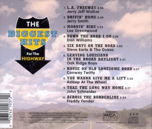 Biggest Hits for the Highway