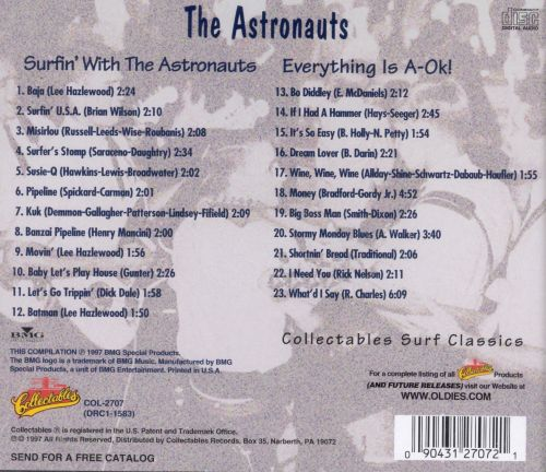 Surfin' with the Astronauts/Everything Is A-OK!
