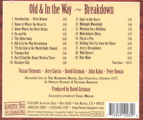 Breakdown: Live Recordings 1973