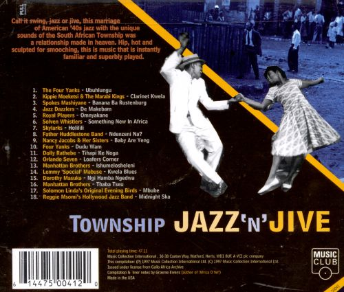 Township Jazz 'N' Jive