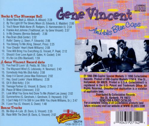 Gene Vincent Rocks! And the Blue Caps Roll/A Record Date with Gene Vincent