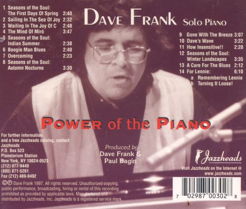 The Power of the Piano