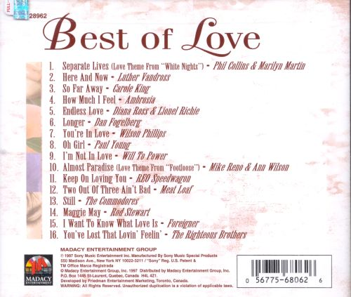 Best of Love: 16 Great Soft Rock Hits