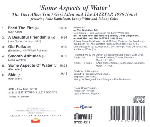 Some Aspects of Water