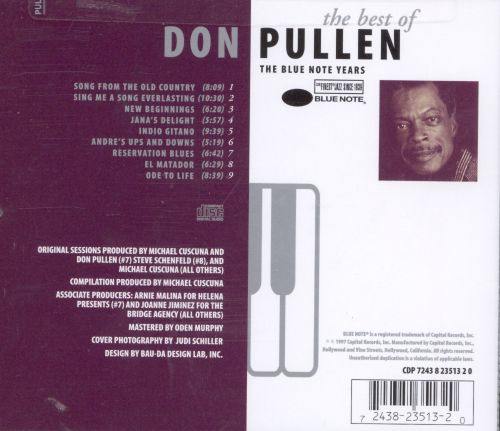 The Best of Don Pullen
