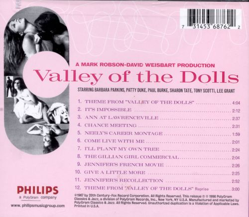 Valley of the Dolls [Music from the Motion Picture Soundtrack]
