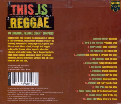 This Is Reggae [Music Club]